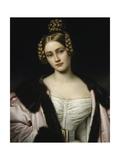 Portrait of Caroline Grafin Holnstein (1815-59), 1834 Giclee Print by Joseph Carl Stieler