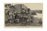 A Country Cricket-Match, Sussex Giclee Print by John Robertson Reid