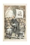 The Political 'Army of Salvation', 1880 Giclée-tryk af Joseph Keppler