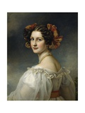 Portrait of Auguste Strobl, 1827 Giclee Print by Joseph Karl Stieler