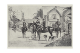 Our Future Kings, the Prince of Wales and the Duke of York at Sandringham Giclee Print by Joseph Holland Tringham