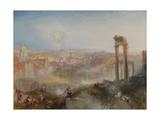 Modern Rome, Campo Vaccino, 1839 Giclée-tryk af J. M. W. Turner
