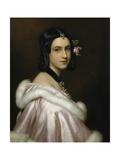 Portrait of Lady Jane Erskine, 1837 Giclee Print by Joseph Karl Stieler