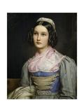 Portrait of Helene Sedelmayer, 1831 Giclee Print by Joseph Karl Stieler