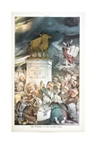 The Worship of the Golden Calf, 1880 Giclée-tryk af Joseph Keppler