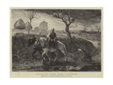 Returning Home from Ploughing Giclée-Druck von Jules Veyrassat