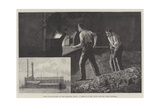 From the Dust-Bin to the Electric Light, a Sketch at the Livet Factory, Near Halifax Giclee Print by Julius Mandes Price