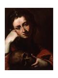 The Penitent Magdalene, C.1620 Giclee Print by Jusepe de Ribera