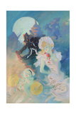 Crazy Happiness Giclee Print by Jules Chéret