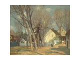 Windham Village, C.1913-14 Giclee Print by Julian Alden Weir