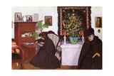 Christmas, 1903 (Panel) Gicléetryck av Jozsef Rippl-Ronai
