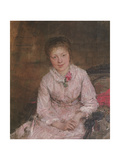 Portrait of a Young Woman Giclee Print by Jules Bastien-Lepage