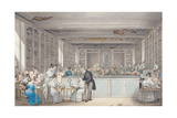Pierre-Joseph Redouté's School of Botanical Drawing in the Salle Buffon in the Jardin Des Plantes Giclee Print by Julie Ribault