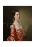 Portrait of a Lady, C.1760 Giclee Print by Joseph Wright of Derby