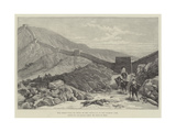 The Great Wall of China at the Entrance to the Nankow Pass Giclee Print by Julius Mandes Price