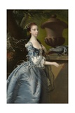 Miss Jane Monck, 1760 Giclee Print by Joseph Wright of Derby