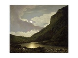 Matlock Tor by Moonlight, C.1777-80 Giclee Print by Joseph Wright of Derby
