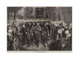 A Breton Pilgrimage Giclee Print by Jules Breton