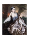 Mrs Lawrence Monck, 1760 Giclee Print by Joseph Wright of Derby