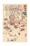 Tako No Asirai Giclee Print by Kobayashi Kiyochika