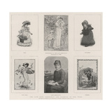 The Late Kate Greenaway and Examples of Her Work Giclee-trykk av Kate Greenaway