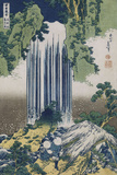 Yoro Waterfall, Mino Province', from the Series 'A Journey to the Waterfalls of All the Provinces' Giclée-Druck von Katsushika Hokusai