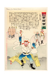 Dreams of a Russian General Giclee Print by Kobayashi Kiyochika