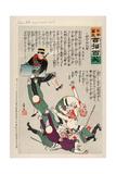 Japan Takes Away Kinchow Castle Giclee Print by Kobayashi Kiyochika