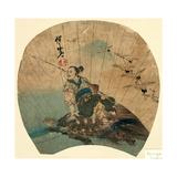 Urashima Giclee Print by Kawanabe Kyosai
