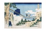 Minister Toru' from the Series 'Poems of China and Japan Mirrored to Life' Impressão giclée por Katsushika Hokusai