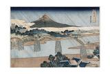 Kintai Bridge Impressão giclée por Katsushika Hokusai