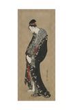 Courtesan, Edo Period Impressão giclée por Katsushika Hokusai