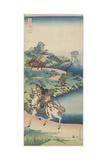 A Youth's Journey, 1833-1834 Impressão giclée por Katsushika Hokusai
