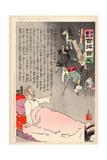 The Czar Sees His Forces Returning Giclee Print by Kobayashi Kiyochika