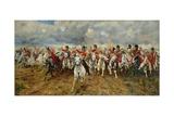 Scotland for Ever! 1881 Giclée-tryk af Lady Butler