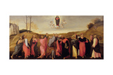 Assumption of the Virgin Giclee Print by Lorenzo Lotto