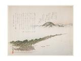 View of Amamo Hashidate, May 1906 Giclee Print by Kawanabe Kyosai