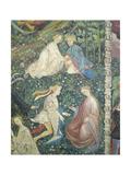 Lovers in a Garden in May Giclée-Druck von Maestro Venceslao