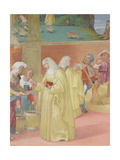 Blessings of St. Brigida, 1524 Giclee Print by Lorenzo Lotto