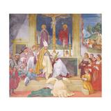 Clothing of Saint Brigida, 1524 Giclee Print by Lorenzo Lotto