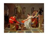 Cleopatra and Octavian, 1787-88 Giclée-tryk af Louis Gauffier