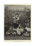 First Come, First Served Giclee Print by Ludwig Knaus