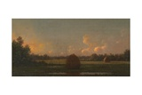 Haystacks, C.1876–82 Giclee Print by Martin Johnson Heade