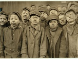 Breaker Boys (Who Sort Coal by Hand) at Hughestown Borough Coal Co. Pittston, Pennsylvania, 1911 Photographic Print by Lewis Wickes Hine