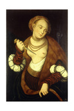 Lucretia, 1548 Giclee Print by Lucas Cranach the Elder