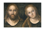 Christ and Mary, 1516-20 Lámina giclée por Lucas Cranach the Elder