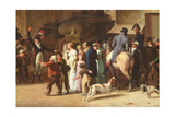 The Conscripts of 1807 Marching Past the Gate of Saint-Denis, Detail of Spectators Giclee Print by Louis Leopold Boilly