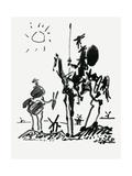 Don Quixote of La Mancha (The Ingenious Gentleman Don Quixote of La Mancha) by Miguel De Cervantes Giclée-Druck von Miguel de Cervantes Saavedra