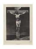 Le Christ, from the Paris Salon Giclée-vedos tekijänä Leon Joseph Florentin Bonnat