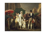Downpour, 1803-1804 Giclee Print by Louis Leopold Boilly